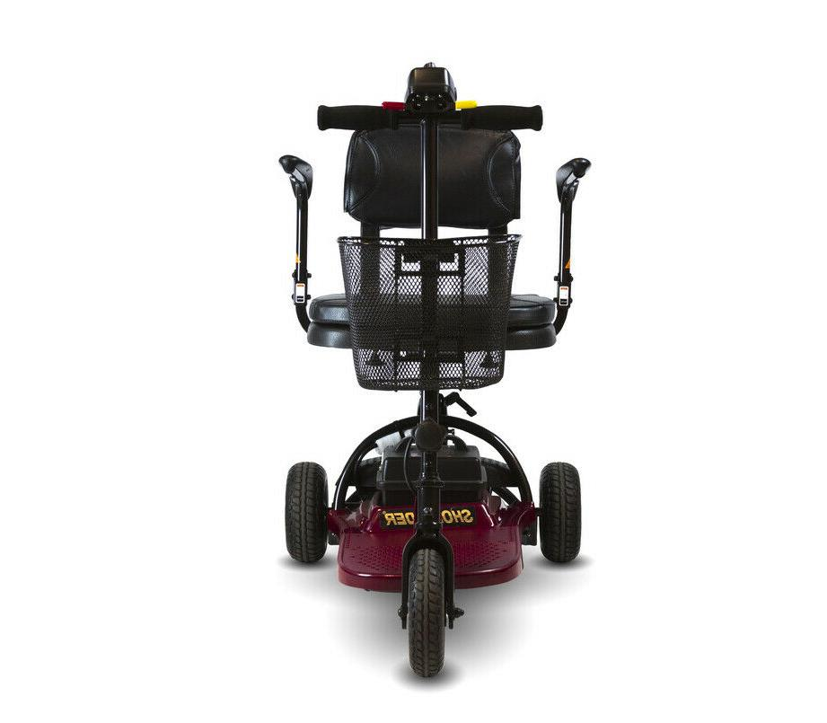 Shoprider 3-Wheel Mobility Scooter Lightweight 250Lbs.