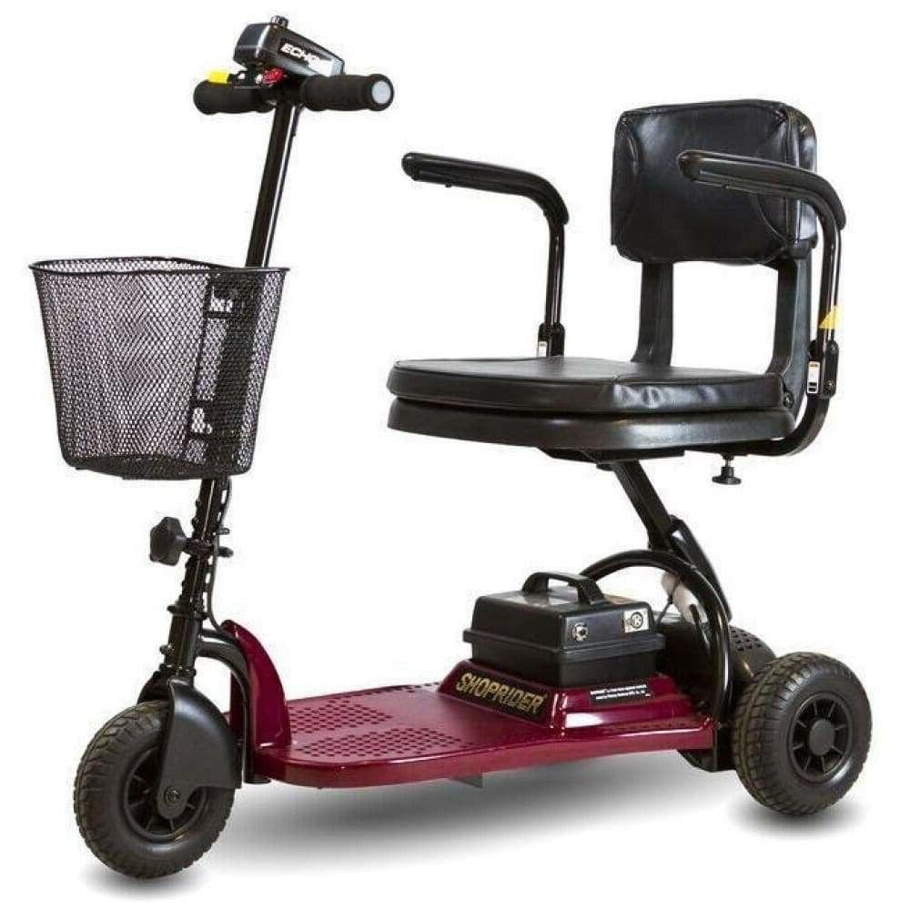 echo 3 wheel mobility scooter lightweight portable