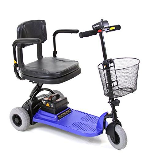 Shoprider Scooter, Blue, 1