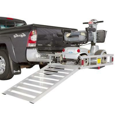 Economy Hitch Mobility Scooter Rack with Ramp