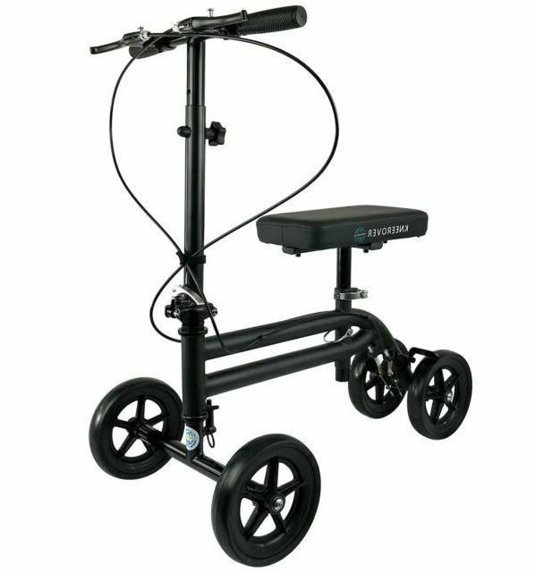 economy knee scooter steerable