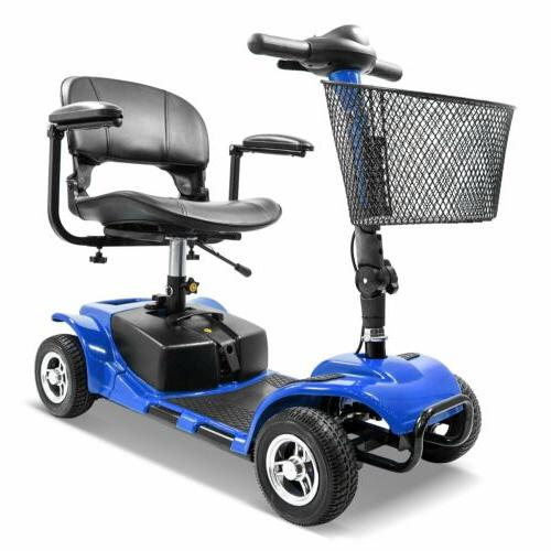 new folding electric powered mobility scooter 4