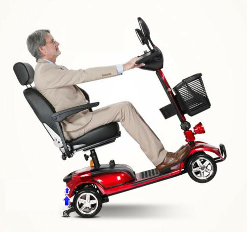 mobility scooter wheel chair folding device electric