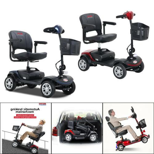 Mobility Wheel Chair Folding Electric 4 Compact