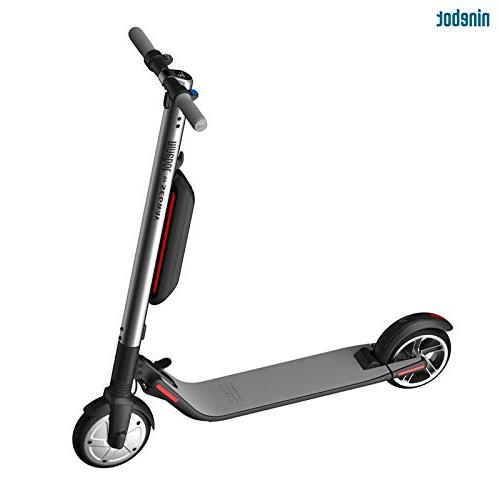 Segway Ninebot - Performance Foldable Electric Scooter 28 Mile mph Cruise Control, App