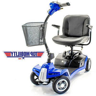 Shoprider ESCAPE 4 Wheel Portable Mobility with ACCESSORIES