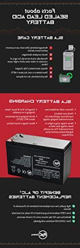 Avigo Extreme 12V Scooter Battery - This is an Brand Replacement