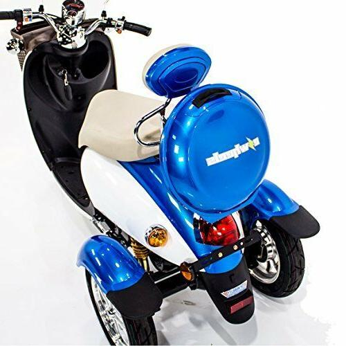 E-Wheels Sport Scooter, up 18mph & mile per charge -