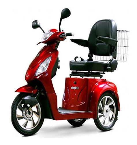 ew 36 mobility scooter red