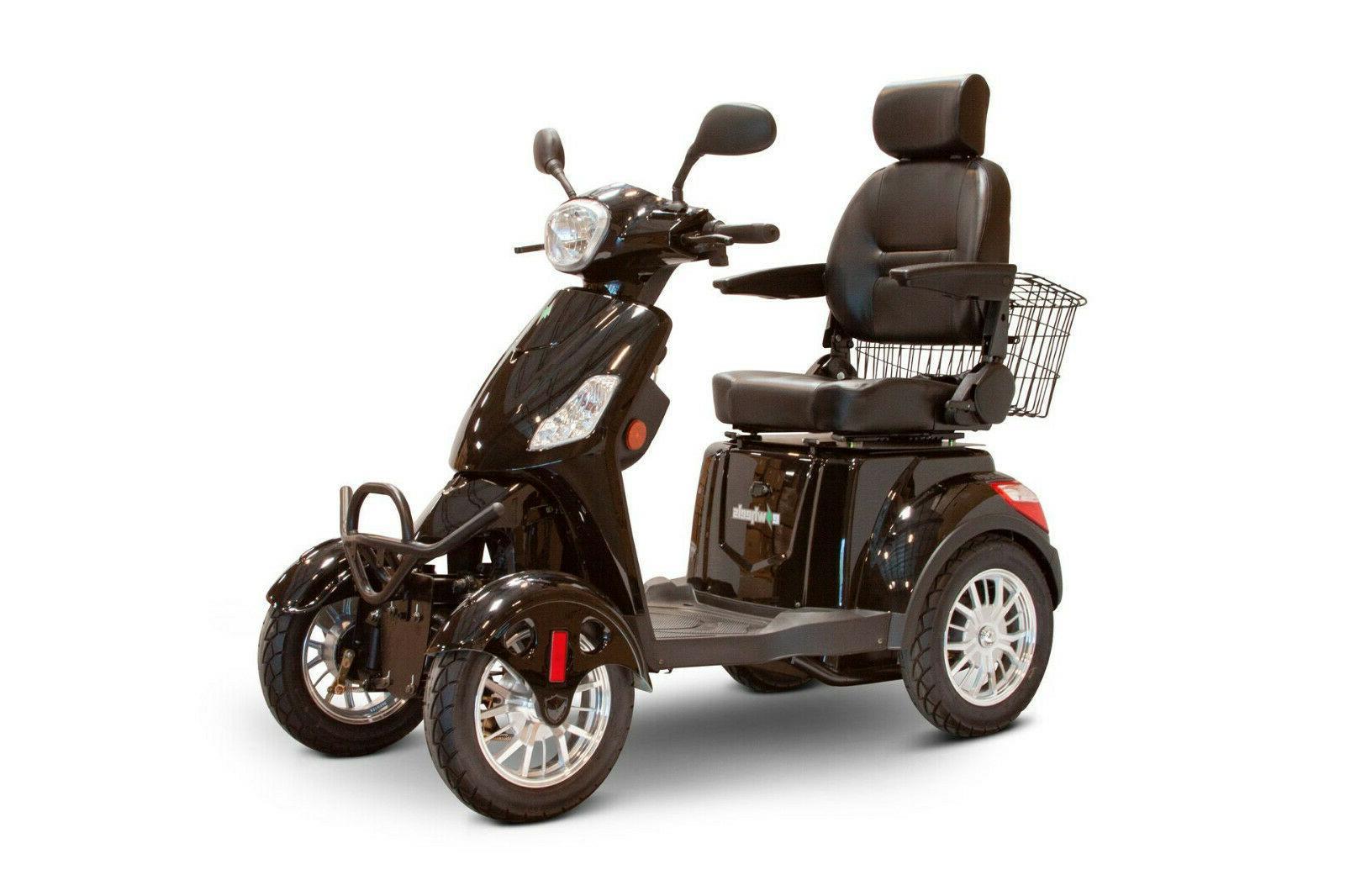 eWheels EW-46 Mobility 4 - w/Captain's Seat, Black