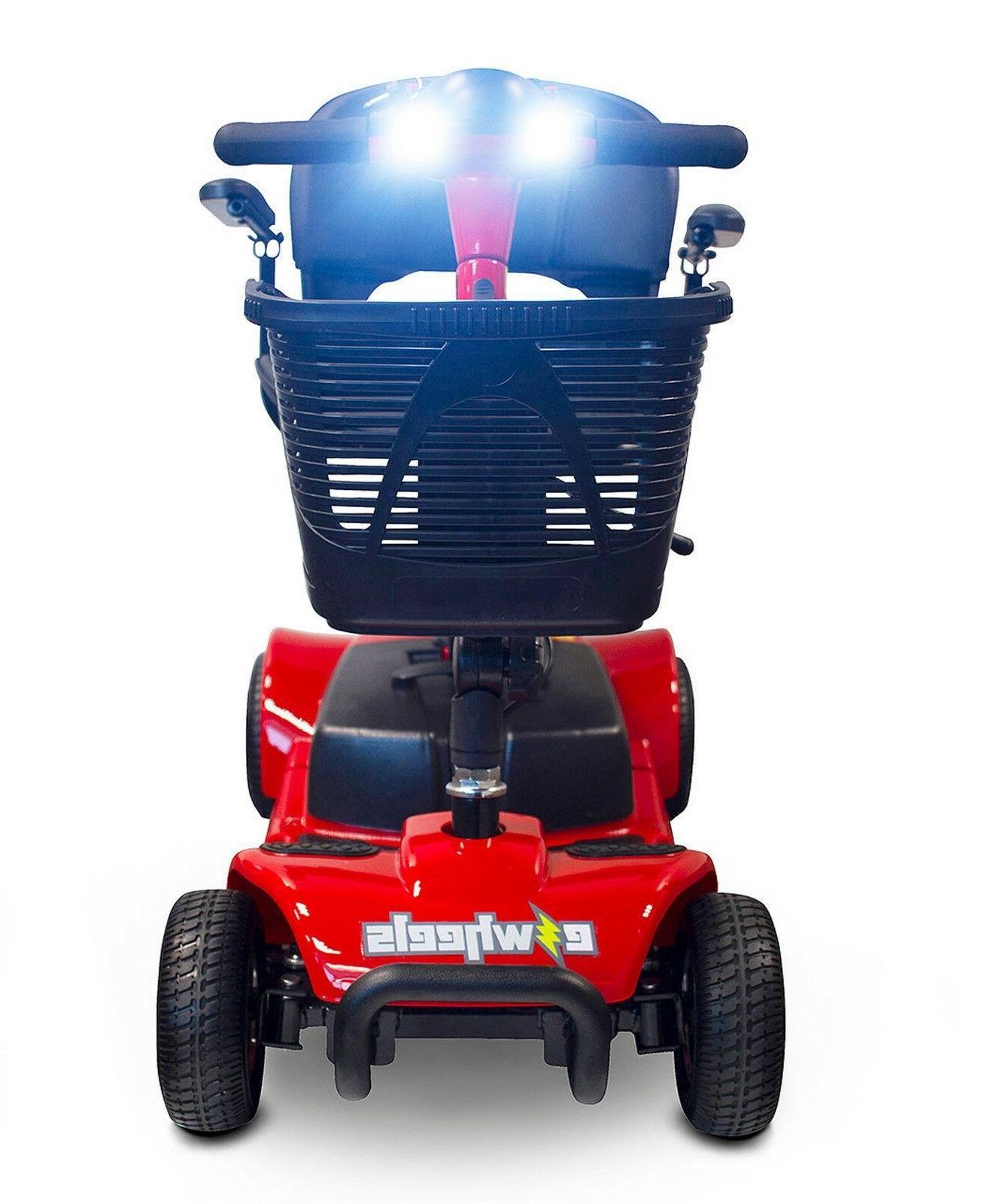 EWheels 4 Wheel Mobility Scooter, Transport, Swivel
