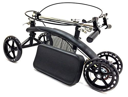 BodyMed With and Basket Great Alternative - Broken Leg Scooter - For Foot Ankle Injury
