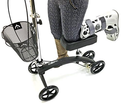 and Great Alternative - Leg - Steerable Mobility Device For Or Injury
