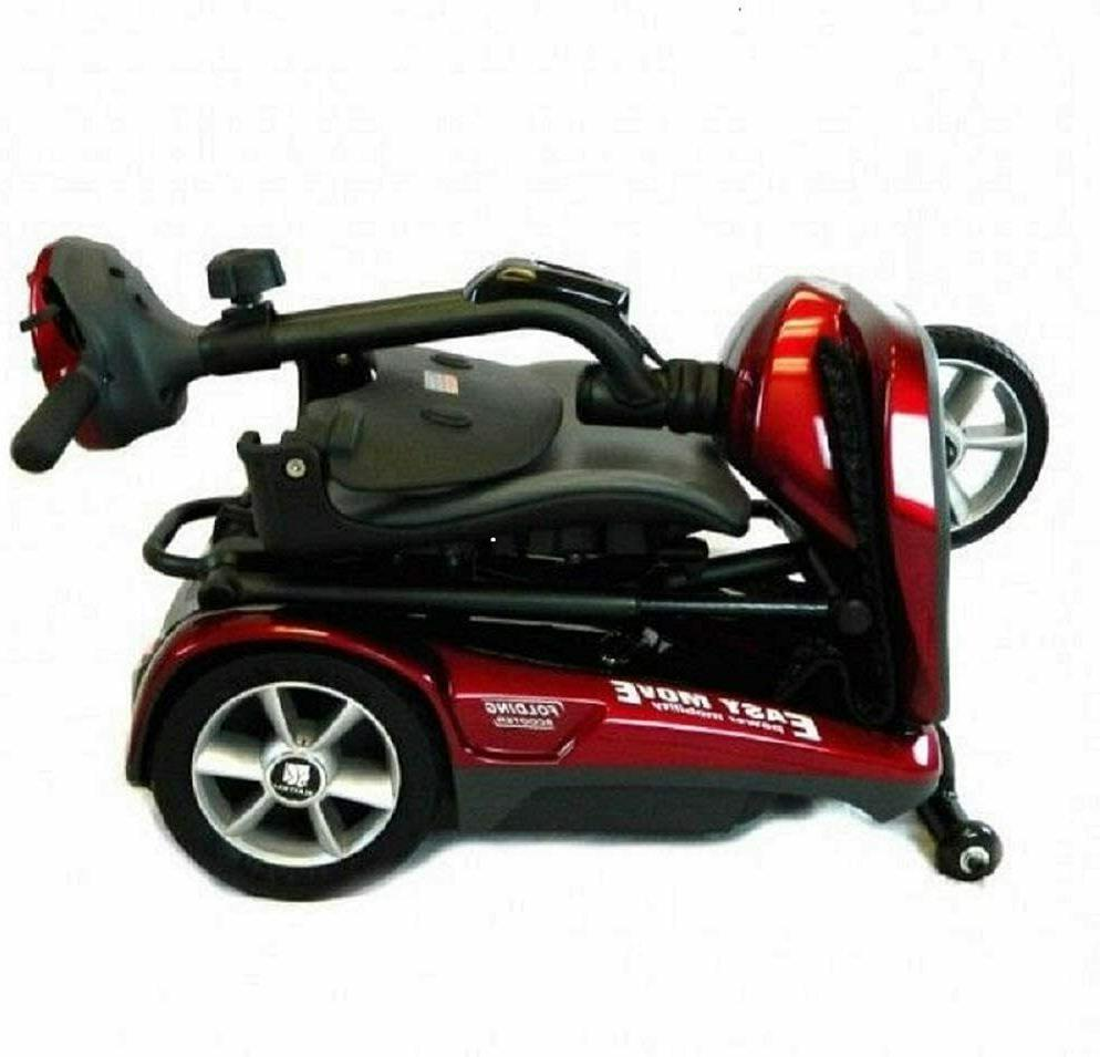 EVRider Folding Mobility Scooter Blue