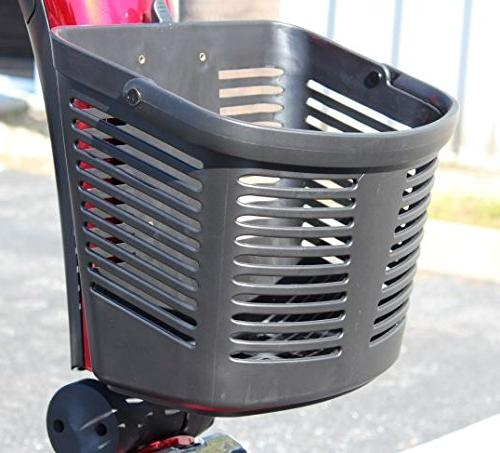 Pride Mobility FRONT BASKET for Sport, Pursuit Scooter - Original Genuine
