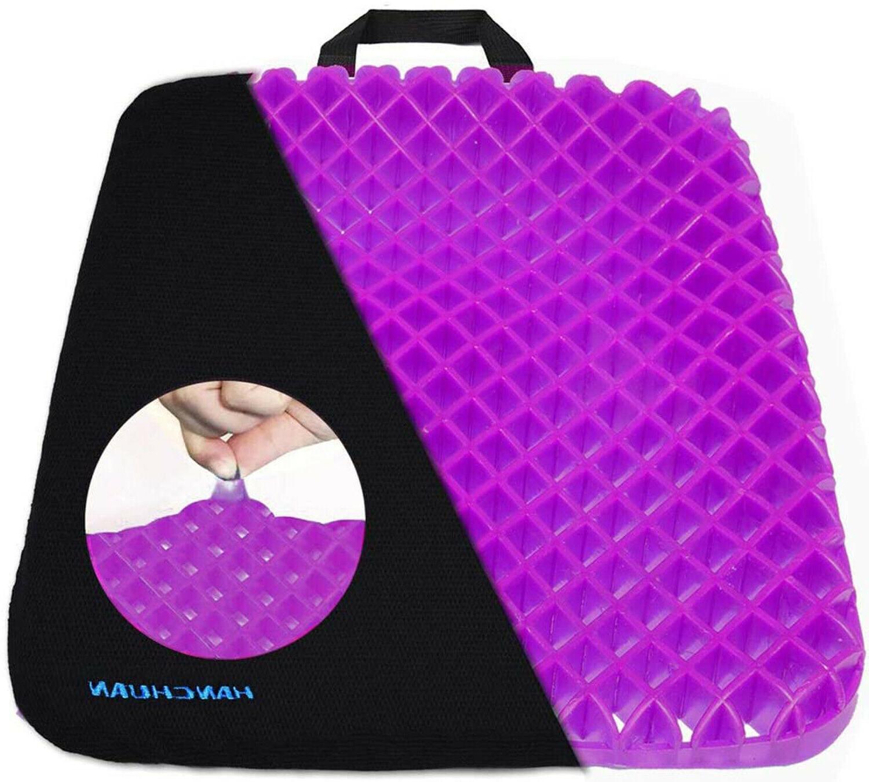 gel seat cushion pressure absorbs honeycomb sitter