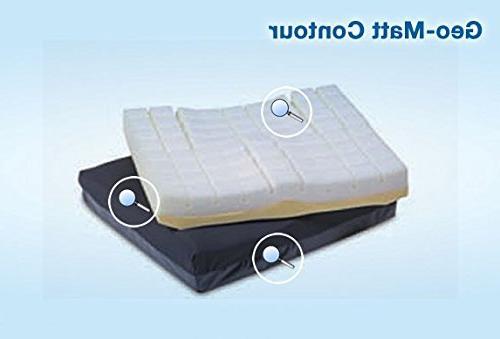 geo matt contour cushion