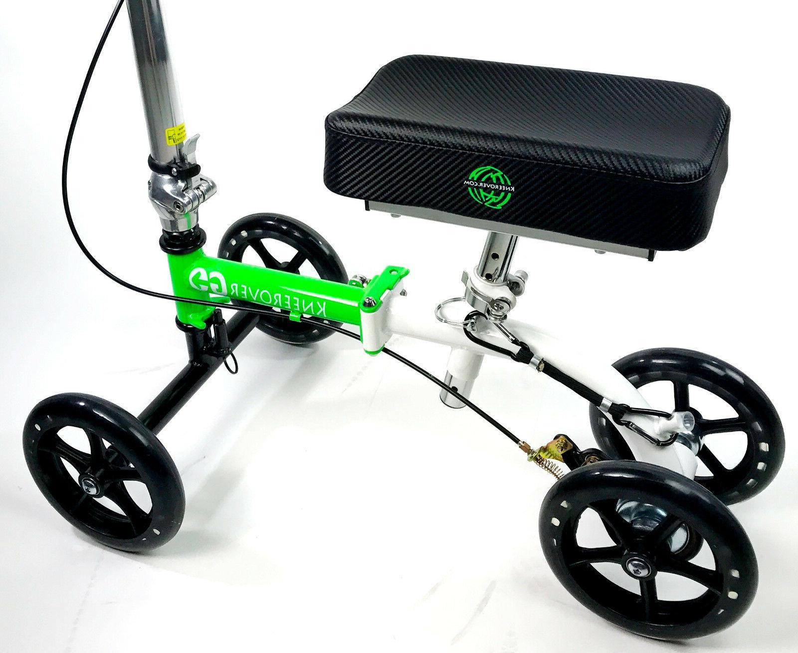 NEW KneeRover GO Knee Walker - The Compact & Scooter