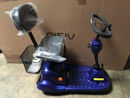 handicap 3 wheel scooter adult rechargeable mobility