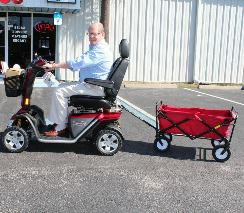 Haul-N-Go Assembly Challenger J2820 Mobility Trailer