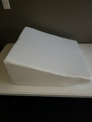 healthex memory foam wedge pillow 24 x24