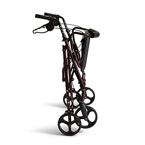 Medline Aluminum Mobility with 8 Inch Wheels, 400 lbs Capacity