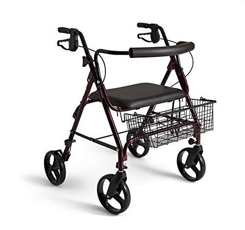Medline Heavy Aluminum with Wheels,