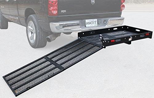 Titan Hitch Wheelchair Mobility Medical Rack Ramp SC500