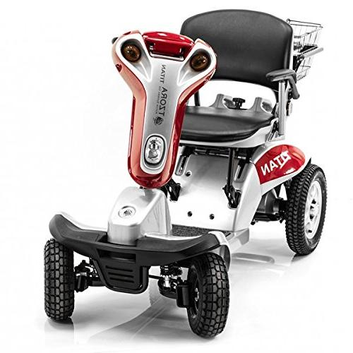 Hummer XL Electric Scooter Tzora RED + Challenger Mobility Accessories