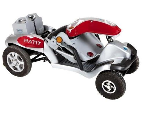 Tzora Hummer XL4 - 4-Wheel Electric Mobility Scooter