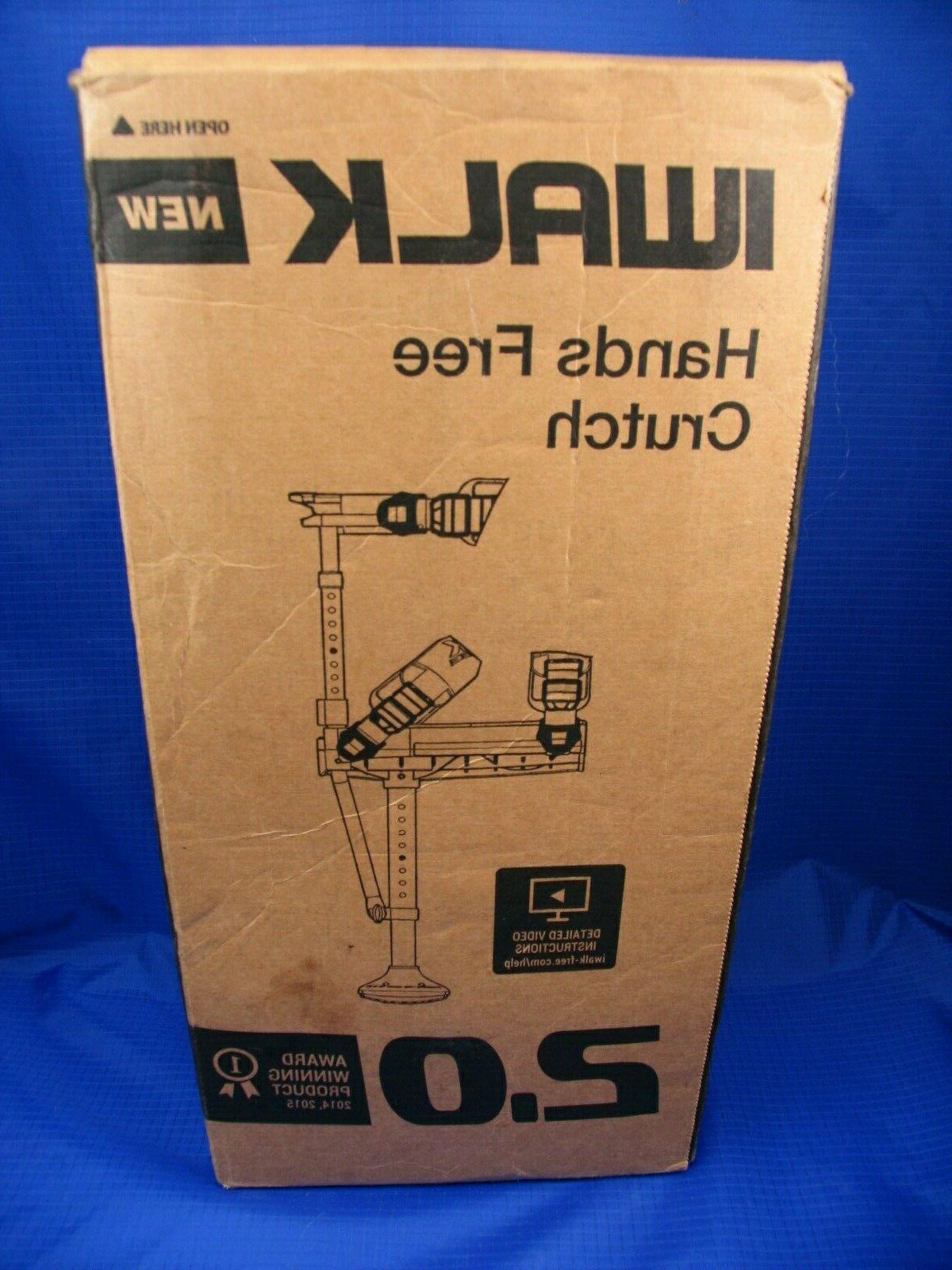 iwalk2 0 hands crutch