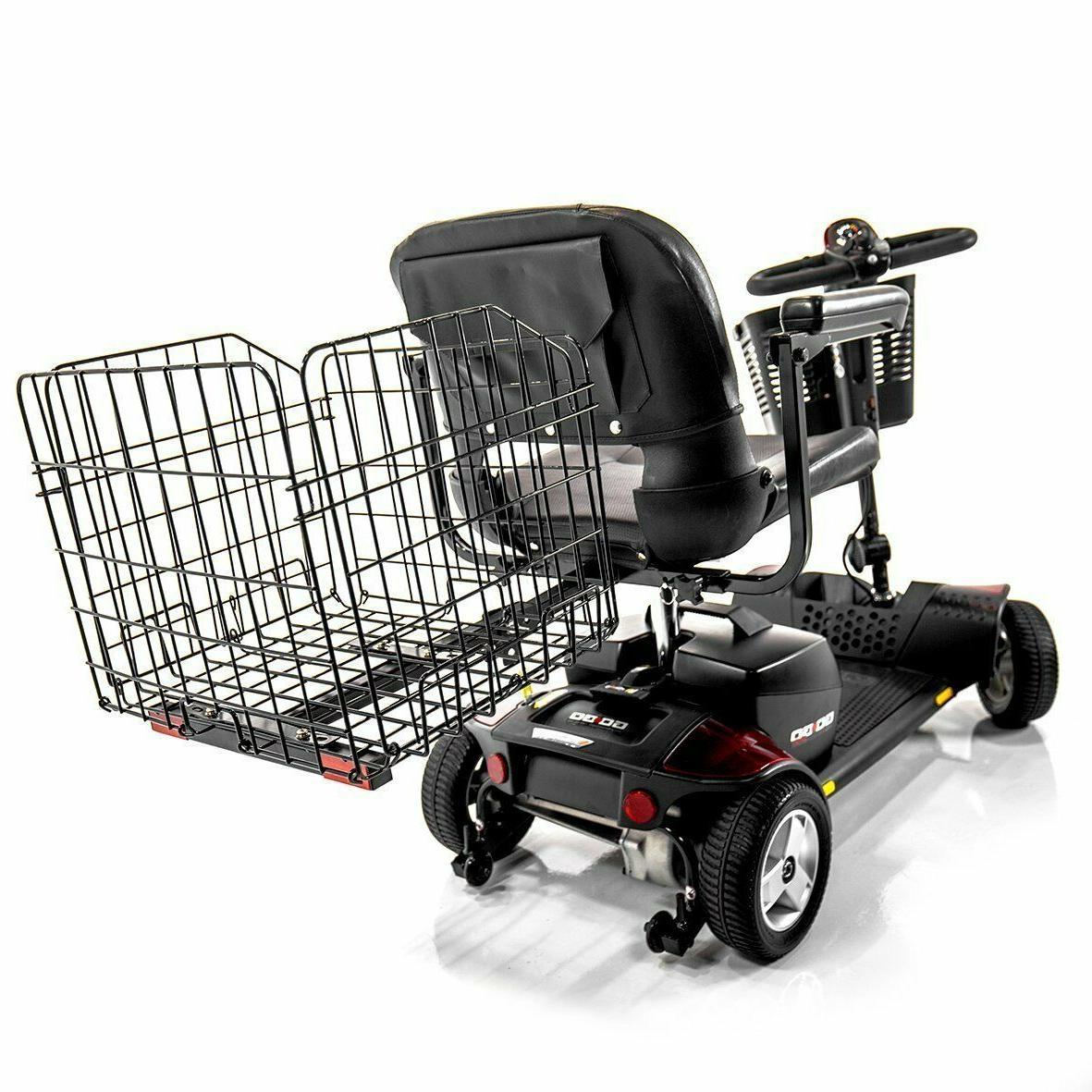j950 folding rear basket for pride mobility