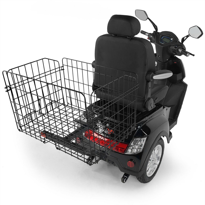 jumbo folding rear scooter basket 1 x1