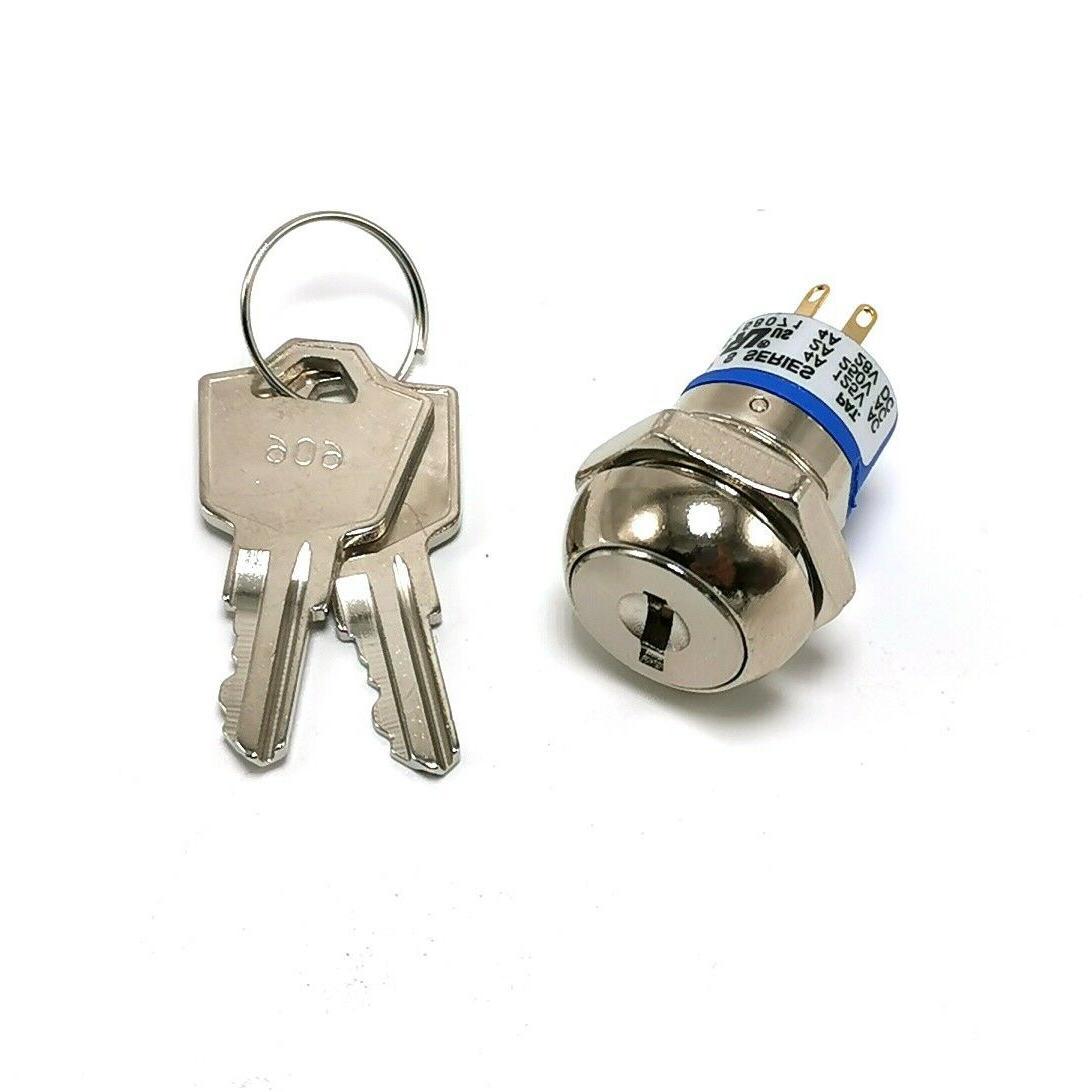 key switch with 2 keys replace amigo
