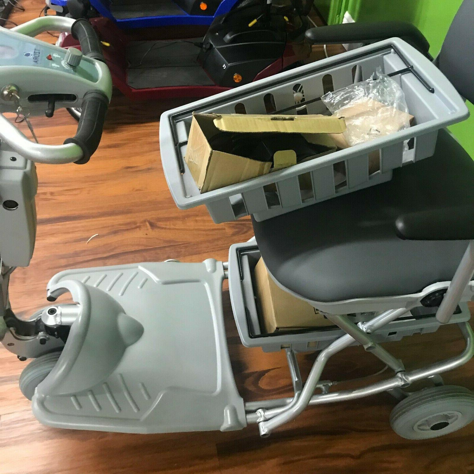 light folding travel folding mobility scooter used