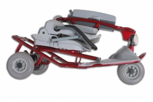Lightweight Scooter Tzora - Red