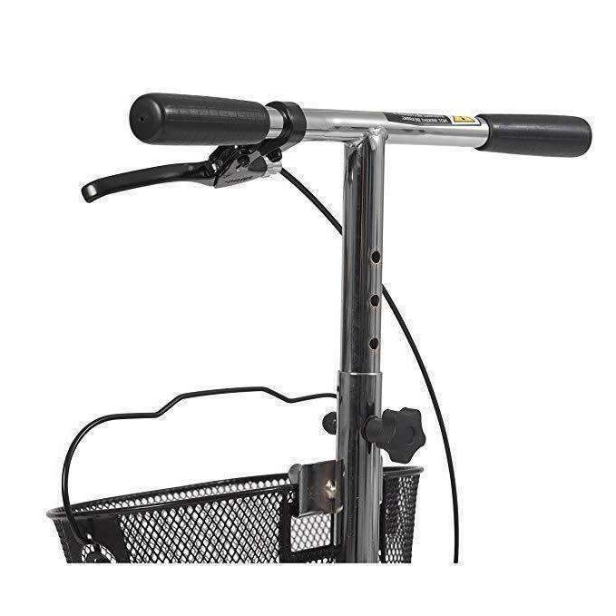 Drive Medical Dual Steerable Walker Basket