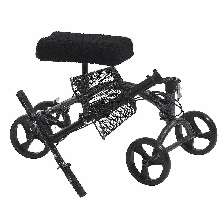 Drive Aluminum Steerable Walker Crutch Alternative