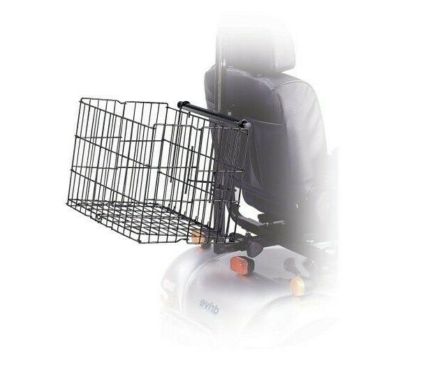 medical sf8020 rear mobility scooter basket new