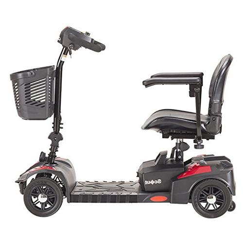 Drive Spitfire 4-EXT 4 Travel Power Scooter with Extended 15 and Warranty