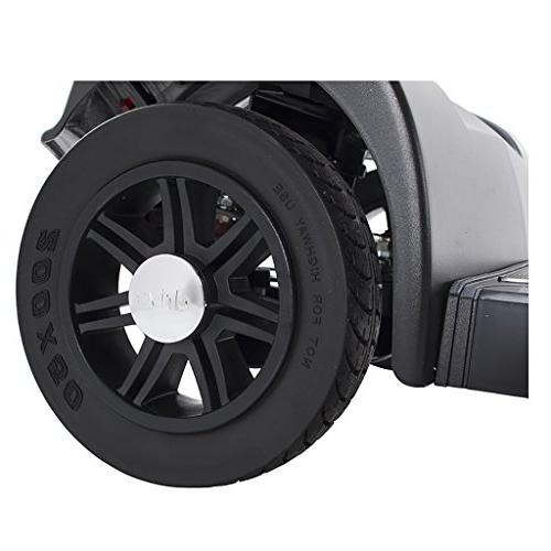 Drive Medical Scout 4-EXT Power Scooter with Extended 15 and Year Warranty