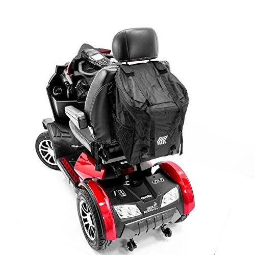 Challenger Mobility Scooter Backrest Storage Bag for or wheelchair