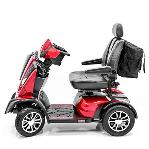 Challenger MEGA Backrest Seatback Storage for Scooter wheelchair J840