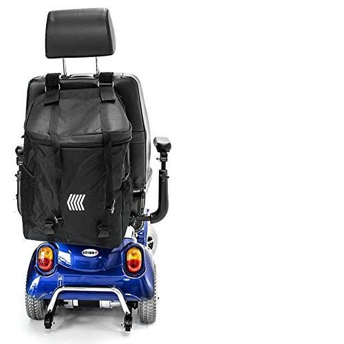 Challenger MEGA Backrest Seatback Bag for or wheelchair
