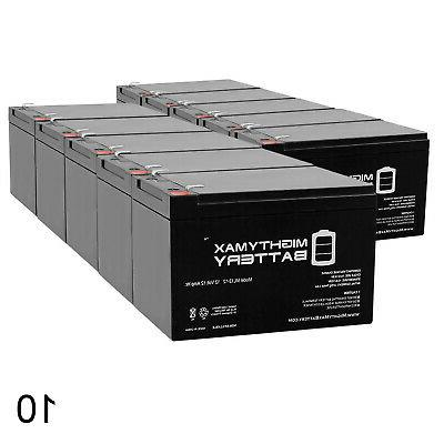 mighty max 12v 12ah battery replaces travel