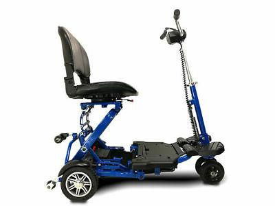 Folding Mobility scooter Blue,