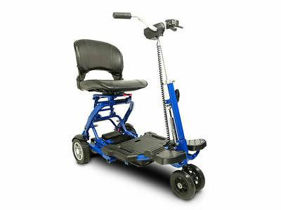 EV Rider - MiniRider Folding Mobility scooter , Blue,