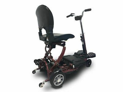 EV Rider Folding Mobility scooter Red, Shipping