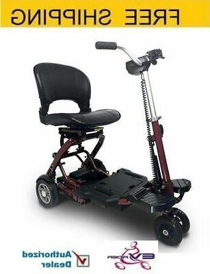 minirider folding mobility scooter red free shipping
