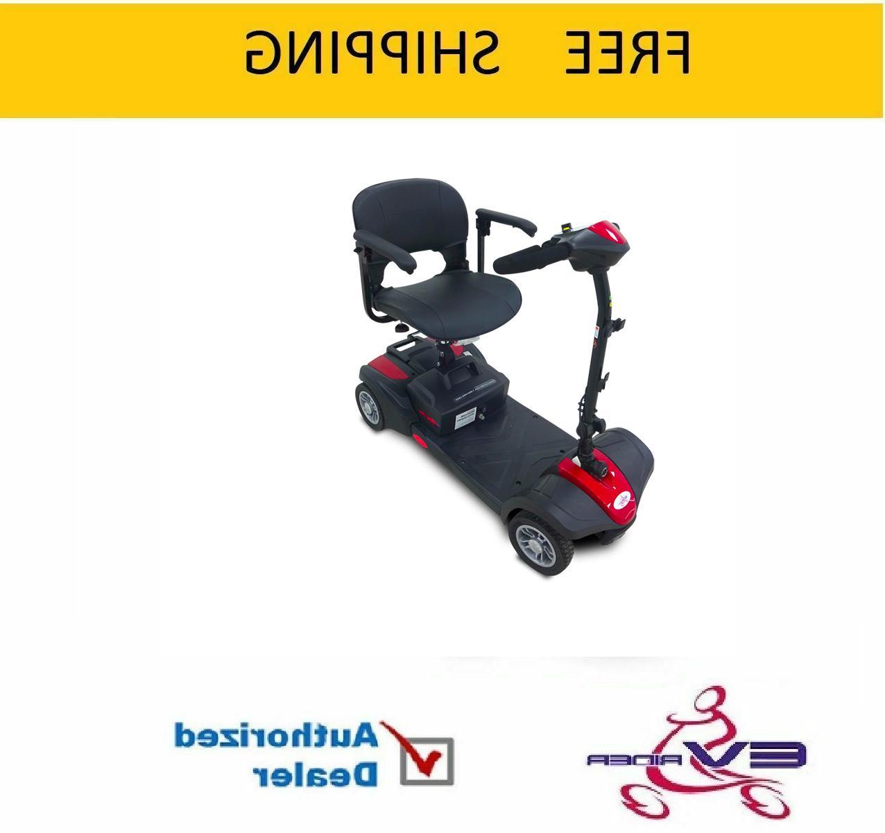 minirider lite power mobility 4 wheel travel